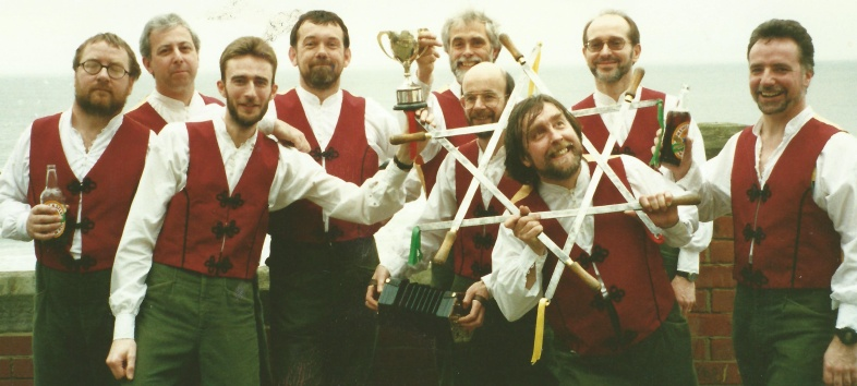 We have had several famous wins at the Whitby Competitive Festival: once jointly with Loftus dancing Sleights and once dancing Salton